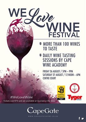 Cape Gate Wine Festival