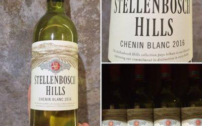 Stellenbosch Hills Chenin Blanc 2016 Freshly Bottled