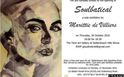 Soulbatical – Solo Exhibition by Marittie de Villiers from 20 October 2016