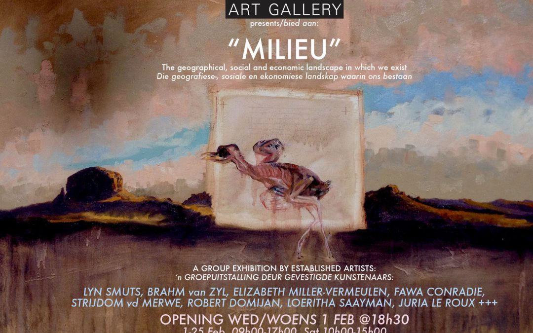 MILIEU – A Group Exhibition by established artists