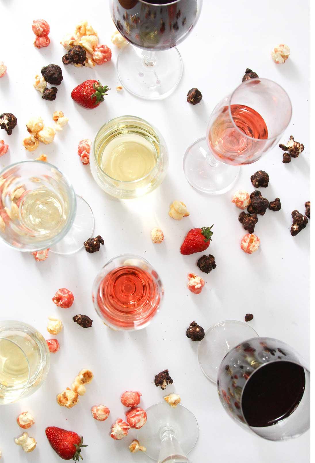 Popcorn and Wine Pairing